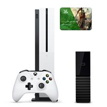 Microsoft Xbox One S 1TB Bundle-Game Console